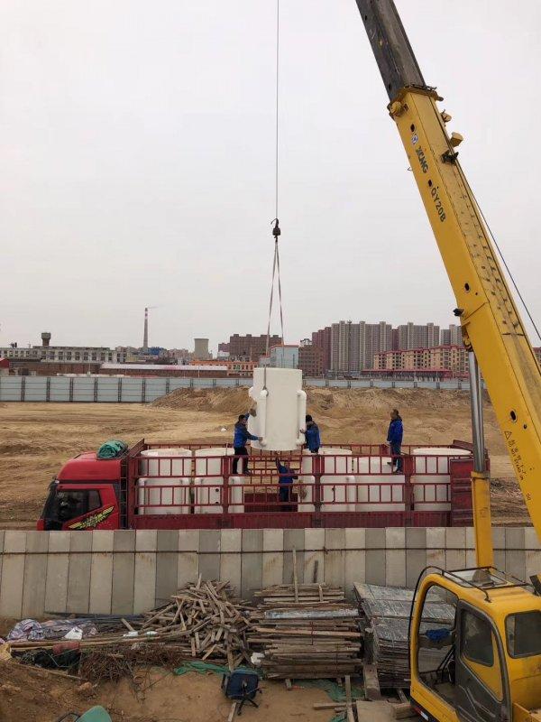 河北石家庄景观水处理工程